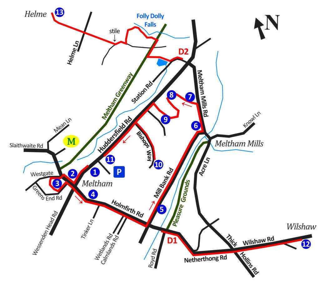 Blue Plaque Trail